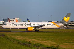 Thomas Cook - Airbus A321-211 YL-LCZ @ Bristol (Shaun Grist) Tags: yllcz tcx thomascook smartlynx airbus a321 a321211 shaungrist brs eggd bristol bristolairport bristollulsgate airport aircraft aviation aeroplanes airline avgeek 27 sunrise