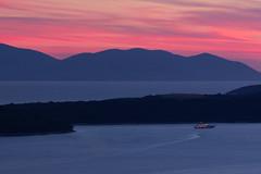 The Yacht (Andrew G Robertson) Tags: hvar croatia adriatic yacht super sunset minimal