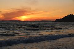 Arillas beach - sunset (gab113) Tags: grece greece corfou corfu sunset plage