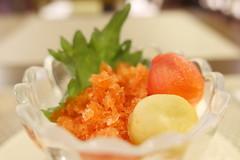Tomato Granita (HAMACHI!) Tags: tokyo 2019 japan primeribzen primerib禅 beef roastbeef japanesefood americanfood akihabara diningrestaurant dining food foodporn foodie foodmacro frozendessert