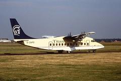 G-ZAPD Short 360 Titan CVT 23-06-94 (cvtperson) Tags: gzapd short 360 titan coventry airport cvt egbe