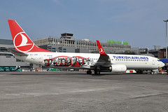 TC-JYP  B737-9F2(ER)(WL)  Turkish Airlines (n707pm) Tags: tcjyp boeing b737 737 737900 737wl airport airline aircraft airplane dub ireland eidw collinstown thy turkishairlines turkishnationalfootballteam special cn42014 dublinairport 06062016