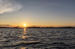 Lake Huron (mystero233) Tags: lake huron lakehuron georgianbay massasauga ontario canada massasaugaprovincialpark water sunset sun sunrays sunlight dusk reflection tree island forest nature outdoor nopeople evening landscape