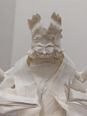 Asura (Lê Huỳnh Đức) Tags: origami paper art paperart papersculpture asura buddhism