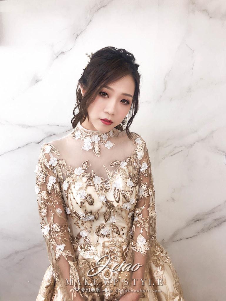 【新秘婕喬】新娘造型創作 / 華麗公主風
