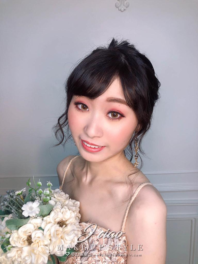 【新秘婕喬】新娘造型創作 / 浪漫盤髮造型