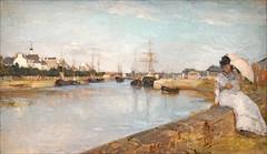 Marine de Berthe Morisot (Musée d'Orsay, Paris) (dalbera) Tags: dalbera muséedorsay paris france impressionnisme berthemorisot lorient port peinture mer
