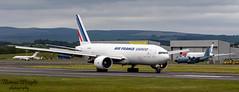 Air France Cargo Boeing 777F (Thomas Wraight) Tags: 777 boeing777widebody boeing b777f cargo freighter canon7dii ef70200mmf28lisiiusm 70200 airfrance airfrancecargo prestwick prestwickairport ayr ayrshire glasgowprestwick