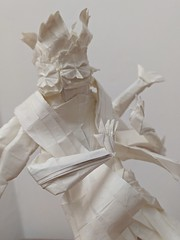 Asura (Lê Huỳnh Đức) Tags: origami paper paperart papersculpture buddhism asura