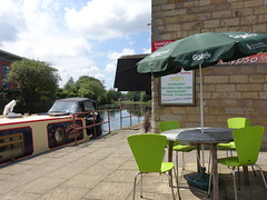 Outside Calypso Caribbean Restaurant in Blacburn (Tony Worrall) Tags: blackburn town urban outdoors pub canal waterside bar inn tavern boozer seats canopy barge boat relax calypsocaribbeanrestaurant calypso caribbean restaurant eanam nw northwest north update place location uk england visit area attraction open stream tour country item greatbritain britain english british gb capture buy stock sell sale outside caught photo shoot shot picture captured ilobsterit instragram