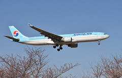 Korean Air, HL8002, Airbus A330-323X at NRT (tokyo70) Tags: japan travel tour koreanair a330