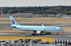 Korean Air, HL8227, Airbus A330-223 at NRT (tokyo70) Tags: japan travel tour koreanair a330