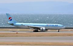 Korean Air, HL7538, Airbus A330-223 at NGO (tokyo70) Tags: japan travel tour koreanair a330
