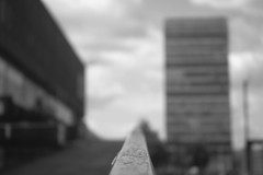 The point is.... (dwimagesolutions) Tags: england london elephantandcastle bw bokeh lunchtime nikond7200 zoomnikkor1870mmf3545