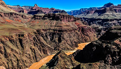 Inside the Grand Canyon, Arizona, USA   グランド・キャニオンの中にいた時、アリゾナ州、アメリカ合衆国 (Explored 24/viii/19) (Mr Mikage (ミスター御影)) Tags: 2010 countryusa countryusaarizona naturecanyongorge natureriver placelargenationalpark rock smileonsaturday