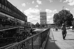 Down at the Elephant (dwimagesolutions) Tags: england london elephantandcastle londonlife citylife street streetphotography bw lunchtime nikond7200 zoomnikkor1870mmf3545