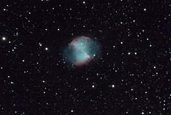 Messier 27 - Hantelnebel (Dumbbell Nebula) (w.fuerstenhoefer) Tags: messier27 hantelnebel nebula m27 space deepsky astronomy astronomie dumbbell astrometrydotnet:id=nova3616968 astrometrydotnet:status=solved
