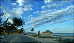 Bom dia ! (o.dirce) Tags: odirce praia nuvens céu mar natureza dirce