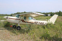 N2746J - 1974 build Cessna A150M Aerobat (Tailwheel conversion), parked at Big Lake (egcc) Tags: a1500582 a150m aerobat alaska bgq biglake biglakeairport ce150 cessna cessna150 lightroom matanuskasusitna n2746j pagq tjernlund