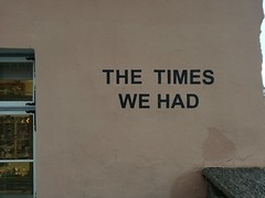The Times we had. (unciclamino) Tags:
