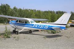 N73119 - 1976 build Cessna 172M Skyhawk II, parked at Big Lake (egcc) Tags: 17267273 172m alaska bgq biglake biglakeairport ce172 cessna cessna172 lightroom matanuskasusitna n73119 pagq parson skyhawk