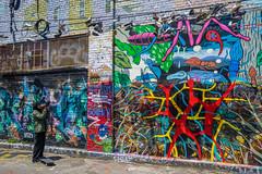 Clarion Alley (Jim Nix / Nomadic Pursuits) Tags: 24mmf28 clarionalley jimnix lightroom luminar rokinon sanfrancisco sony sonya7ii themission cityscape primelens streetphotography streetscene travel