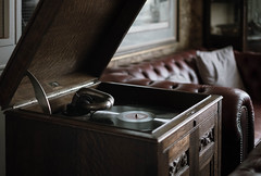 Let the music play (V Photography and Art) Tags: gramophone vintage old music antique