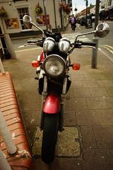 motorcycle (robertwaynelester) Tags: motorcycle bike biker street wide motorbike