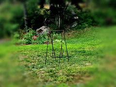 emptiness ~ spaciousness to receive (77ahavah77) Tags: outside chair empty maine receive emptiness