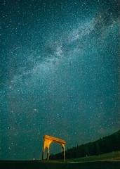 Stargate (Pásztohy) Tags: csillagkapu gate milkyway stars night montain hill trees field forest galaxy space constellation nightsky longexposure astrophotography nature green grass transylvania erdély csíkszereda universe csíksomlyó székelykapu