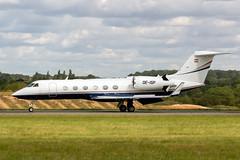 OE-ISP Gulfstream G450 - Luton Airport (benallsup) Tags: biz bizz bizjet jet oeisp gulfstream g450 luton airport eggw ltn