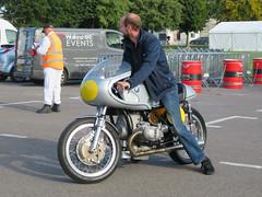 BMW Motorbike (jane_sanders) Tags: goodwood westsussex sussex goodwoodrevival revival motorcircuit testing test motorbike motorcycle bmw