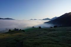 DSC00029 (Bergwandern Alpen) Tags: alpen alps bergwandern hiking berglandschaft ybrig nebelmeer morgendämmerung oberiberg buoffenalp laucheren wolkenmeer clouds