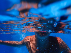 Half under water (https://tinyurl.com/jsebouvi) Tags: algarve portugal vacances août2019 arm art boy bras bubble ferias holidays mouth photo piscine top underwater