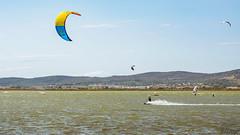 L'envol (B.2Lange) Tags: frontignan voile kid surf vent lac étang rivière