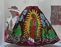 Mexican Skirt Virgen of Guadalupe Oaxaca (Teyacapan) Tags: guadalupe skirt falda museum oaxaca mexico ropa clothing