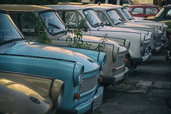 Trabant (michael_hamburg69) Tags: berlin germany deutschland trabant trabbi cemetery autofriedhof car vehicle auto autos zimmerstrase97