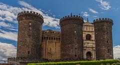Castel Nuovo 1.)1904-4149 (dironzafrancesco) Tags: reise tamron stadtbild travel himmel tamronsp2470mmf28diusd slta99v napoli sony sky gebäude wolken clouds neapel provinzneapel italien cityscape architecture building