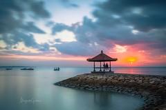 Bali (Margarita Genkova) Tags: beauriful travel indonesia colors sun serenity love sky water sunrise bali