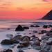 Sunset on Ionian sea