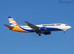 UR-CNP  Boeing 737 Smartwings (@Eurospot) Tags: ltai antalya smartwings urcnp boeing 737 737400 yanair ey538 23980