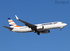 OM-HEX  Boeing 737 Smartwings (@Eurospot) Tags: ltai antalya smartwings omhex boeing 737 737800 airexplore