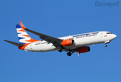 C-GOWG  Boeing 737 Smartwings (@Eurospot) Tags: ltai antalya smartwings cgowg boeing 737 737800