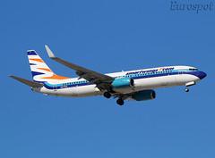 N277EA Boeing 737 Smartwings (@Eurospot) Tags: ltai antalya smartwings n277ea boeing 737 737800