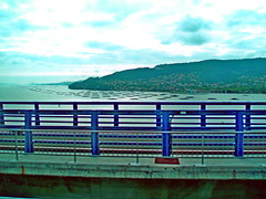 2019-06-03 Portugalia - przejazd przez Vigo (1) (aknad0) Tags: portugalia vigo krajobraz morze most miasto