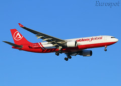 TC-AGL Airbus A330 Atlas Global (@Eurospot) Tags: ltai antalya atlasglobal tcagl airbus a330 a330200 ptmvl
