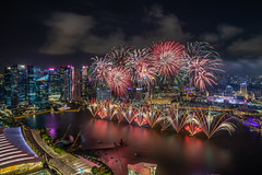 Fireworks Display of NDP 2019 (BP Chua) Tags: singapore oursingapore ndp2019 nationalday fireworks city cityscape marinabay marinabaysg night landscape nikon