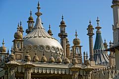 Roof (Croydon Clicker) Tags: dome onion minaret tower roof ornate historic georgian regency indian style sky blue brighton sussex nikon sigma