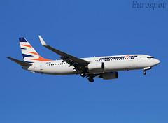 OM-IEX  Boeing 737 Smartwings (@Eurospot) Tags: ltai antalya smartwings 33016 dapbc omiex boeing 737 737800 airexplore