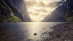Lysebotn II (bjorns_photography) Tags: landscape light water ocean outdoor view photography fjord lysebotn norway norge sunlight sun